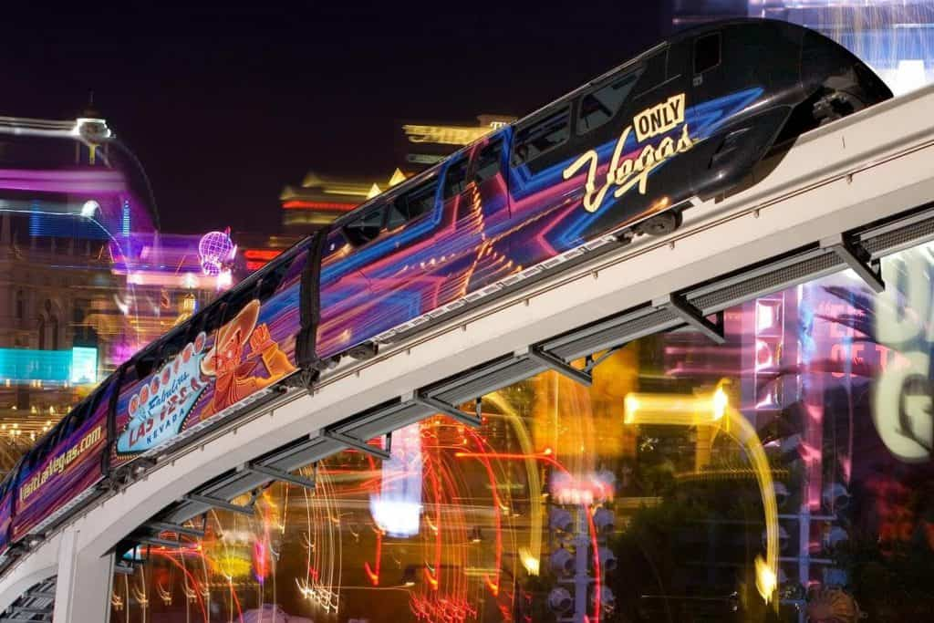 Vegas Monorail - Las Vegas Strip Transportation