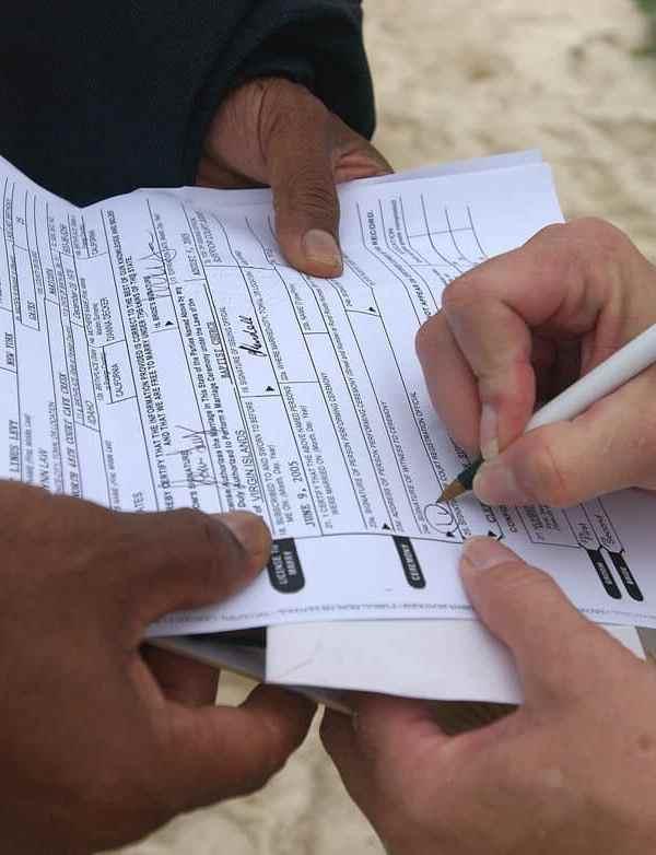 Wedding Legal Requirements in Las Vegas