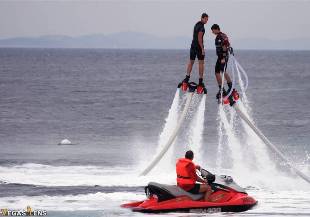 Jet Skiing on the Lake - Las Vegas bachelor party