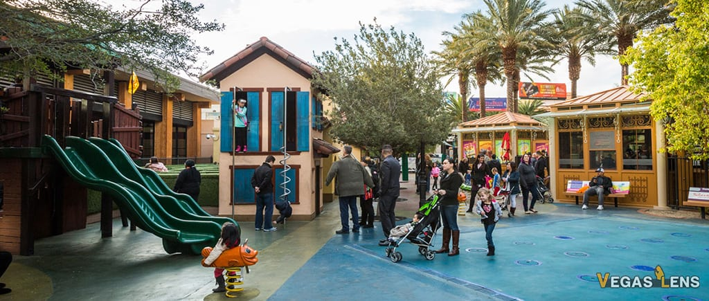 Children's Park at Town Square - Free things to do in Las Vegas with kids