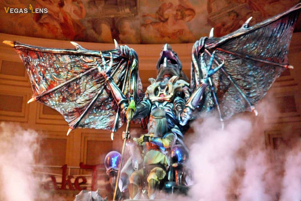 Fall of Atlantis at Caesar's Palace - Free things to do in Vegas with kids