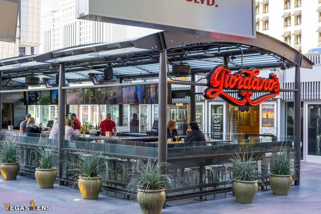 Giordano's - Kid friendly restaurants in Las Vegas