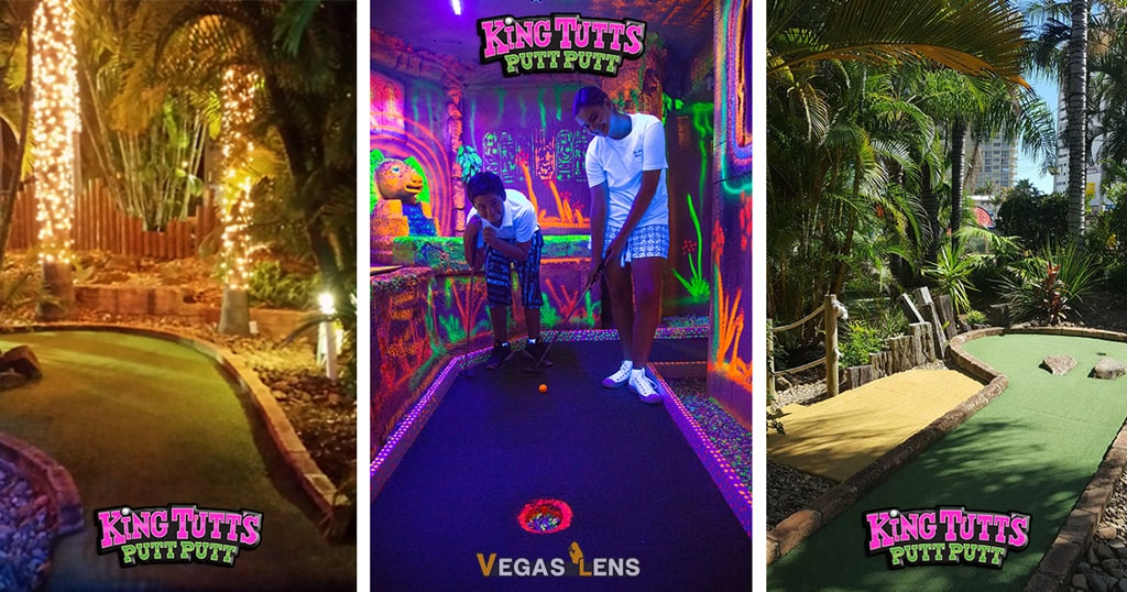 King Putt Miniature Golf - Kids birthday parties in Las Vegas