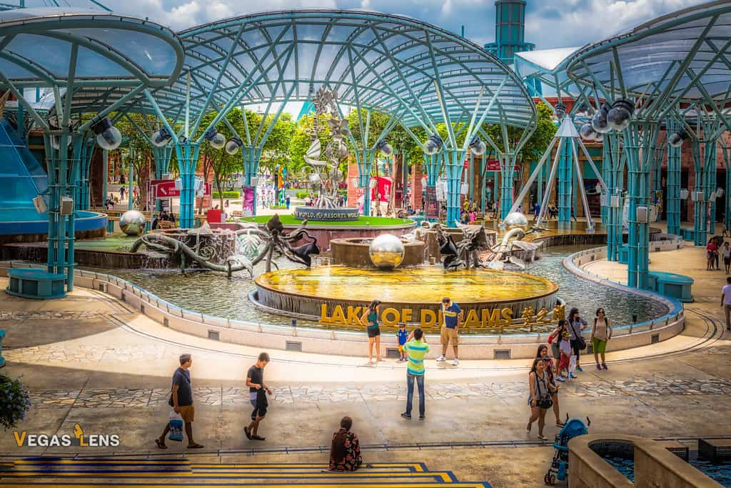 Lake of Dreams - Free things to do in Las Vegas with kids