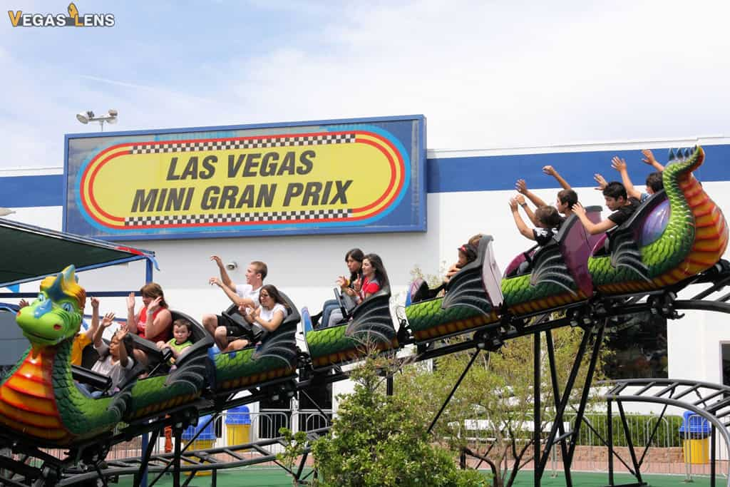 Las Vegas Mini Gran Prix - Kids birthday party places in Las Vegas