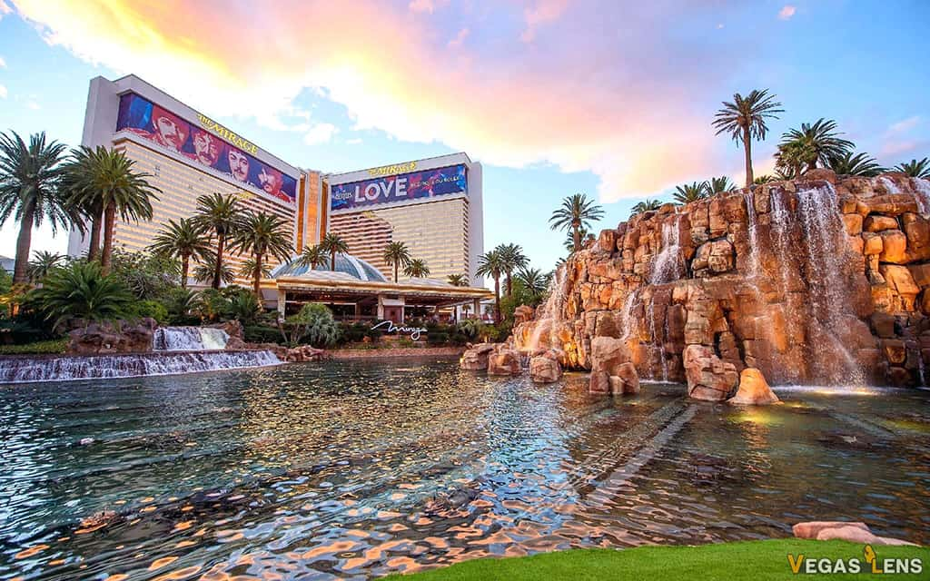 The Mirage Hotel - Best Las Vegas Hotels For Couples