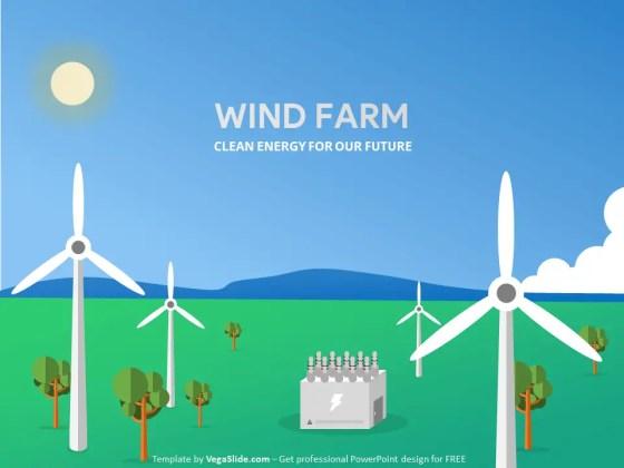 Wind Farm PowerPoint Template