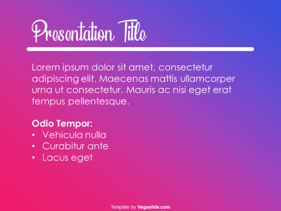 Instagram-like PowerPoint Template