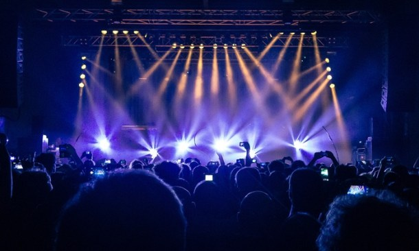 concert stage virtual live music performances