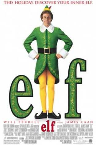 Holiday Classic movies- Elf poster