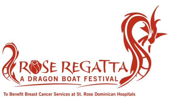 Rose Regatta dragon boat festival logo