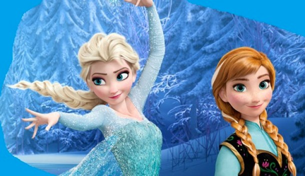 Disney Frozen image of Anna and Elsa