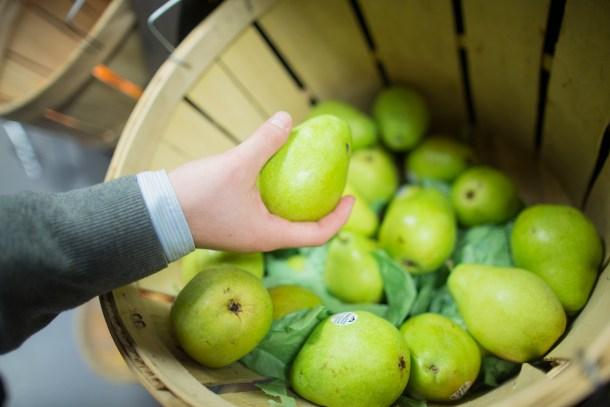 fruit in basket, distribution of food in las vegas