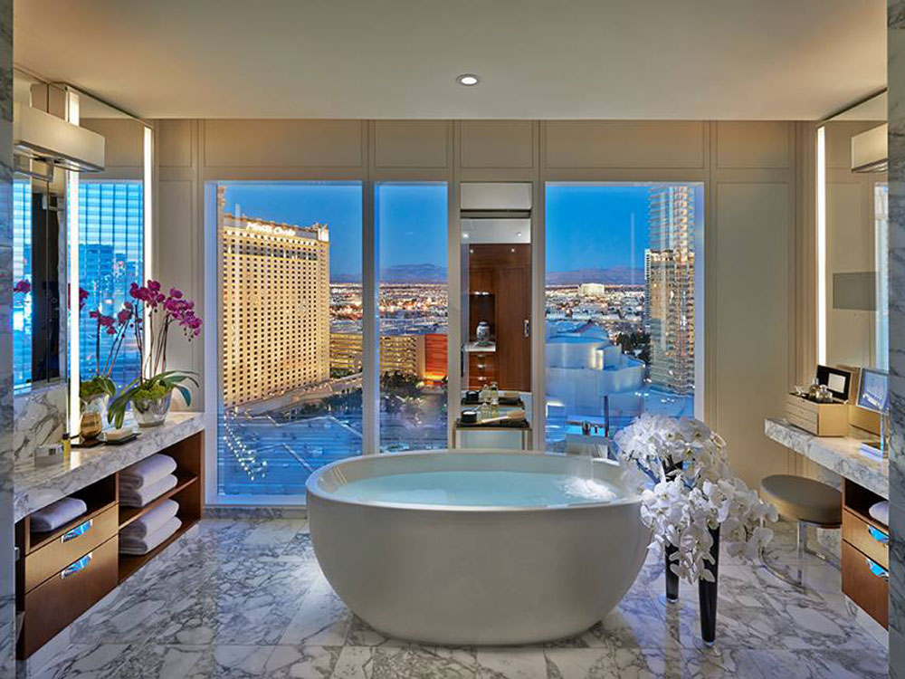 Luxury Vegas Hotel Bathrooms To Get Ready For A Night Out