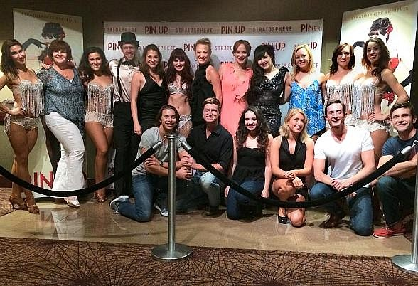 Cast of MAMMA MIA! The Musical Visits Claire Sinclair's