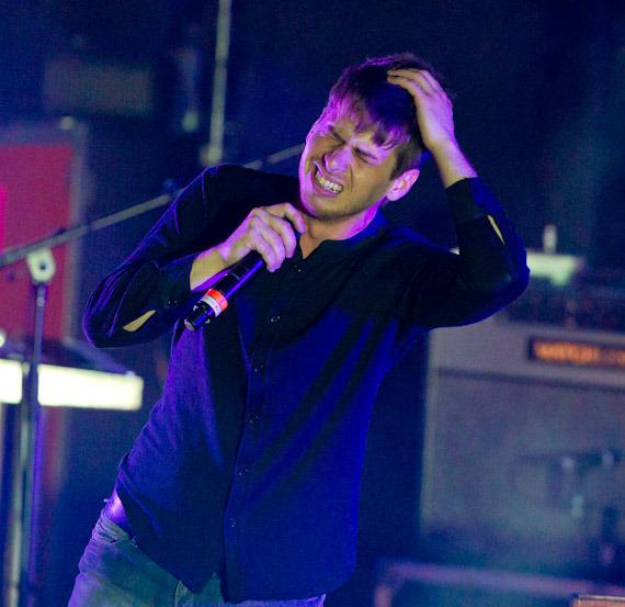 Foster the People perform at The Boulevard Pool at The Cosmopolitan of Las Vegas