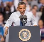 President Barack Obama speaks in Las Vegas
