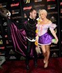 Josh Strickland and Holly Madison at Annual 'Hollyween' Party at Studio 54