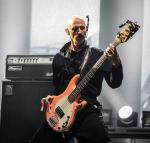 Bassist Tony Levin performs with Peter Gabriel at Planet Hollywood Resort in Las Vegas