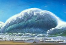 Vladimir Kush Unveils His Latest Artwork 'Ocean Roar'