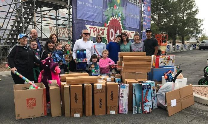 The 22nd Annual 98.5 KLUC Chet Buchanan Show Toy Drive to Benefit Help of Southern Nevada Kicks off Thursday, Dec. 3