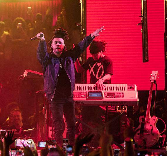 """""""The Weeknd"""" Performs Live Concert at Drai's Nightclub"""