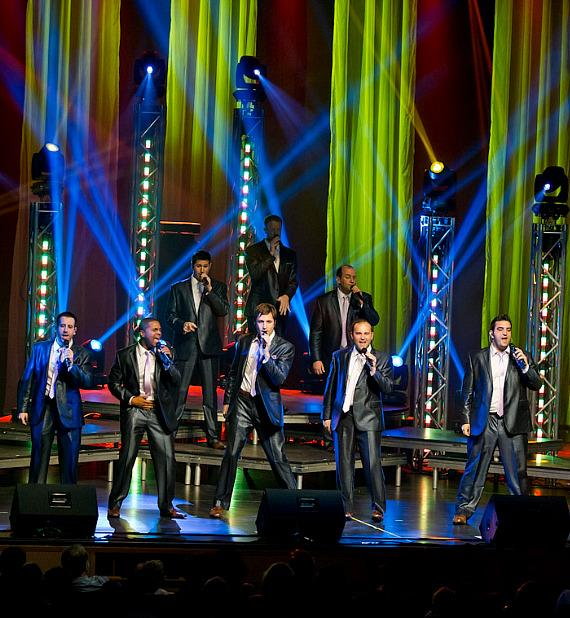 Straight No Chaser Performs at Reynolds Hall at The Smith Center For Performing Arts in Las Vegas