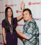Jennifer Yuh Nelson and Jack Black
