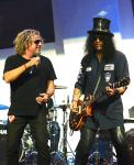 Sammy Hagar and Slash