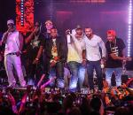 50 Cent and friends perform at  Drai's Beachclub • Nightclub