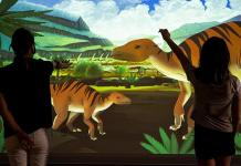Digital Dinos Exhibit Provides Touchless Interaction at Las Vegas Natural History Museum