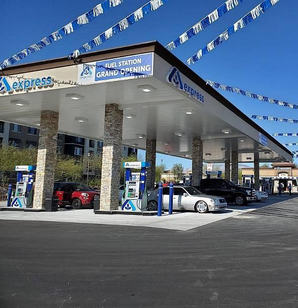 NDL Group, Inc. Showcases Construction Project with Albertson's Fuel Center