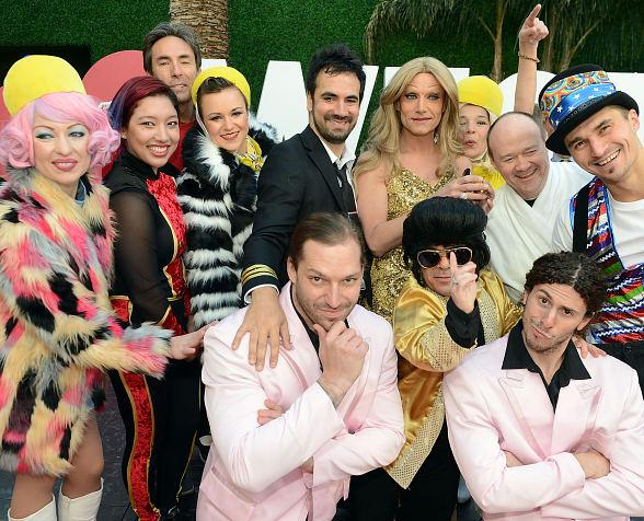 Twisted Vegas Starring French Celebrity Alex Goude arrives in style at Westgate Las Vegas Resort & Casino
