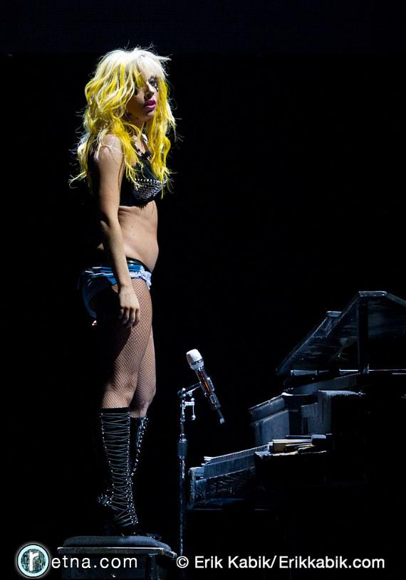 Lady Gaga performs at MGM Grand Garden Arena