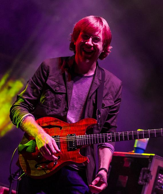 American Rock Band Phish Performs in Long Beach