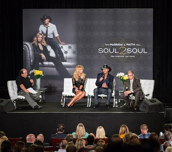 """Country Music Superstars Tim Mcgraw and Faith Hill Bring All-New """"Soul2Soul"""" to The Venetian Las Vegas"""