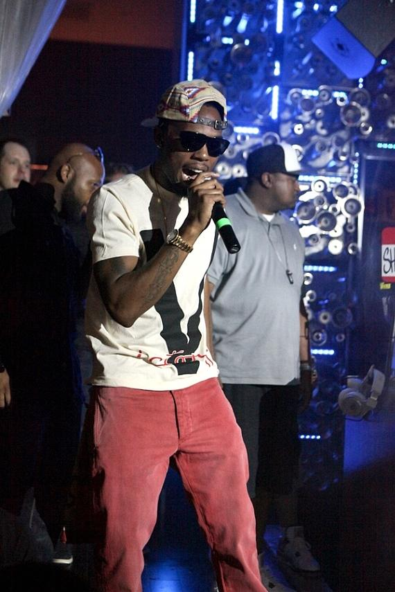 B.o.B performs at Hyde Bellagio, Las Vegas