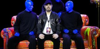 """Blue Man Group Las Vegas Celebrates 25 Years of """"Friends"""" with Special Performance"""
