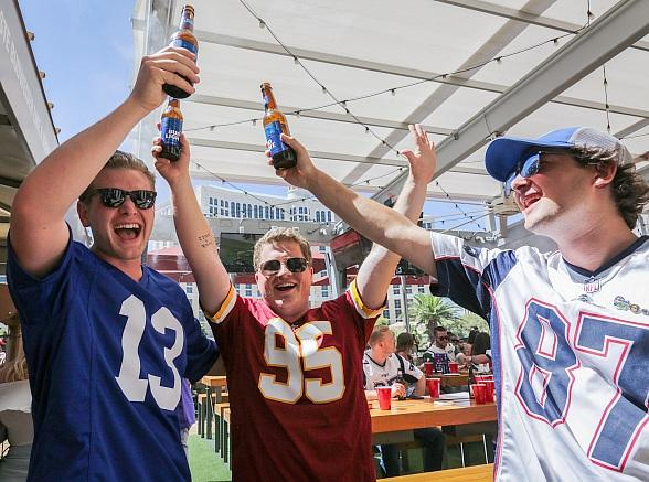 BEER PARK at Paris Las Vegas to Kick Off Football Season with VIP Viewing Parties