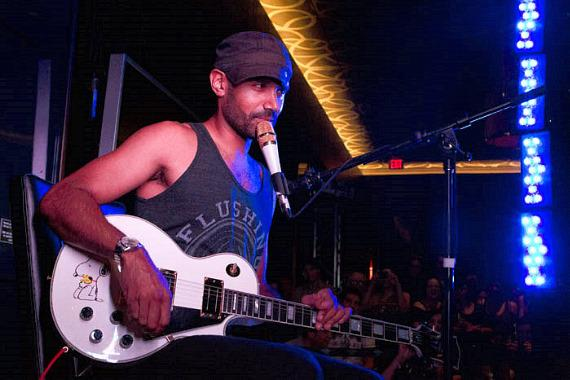Ben Kenney of Incubus performs at The Lounge at Hard Rock Hotel Las Vegas