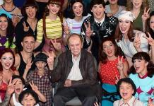 "Bob Newhart Celebrates 90th Birthday at ""The Beatles LOVE by Cirque du Soleil"""