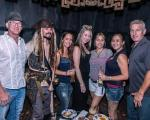 Captain Jack Sparrow and guests celebrate The Golden Tiki anniversary