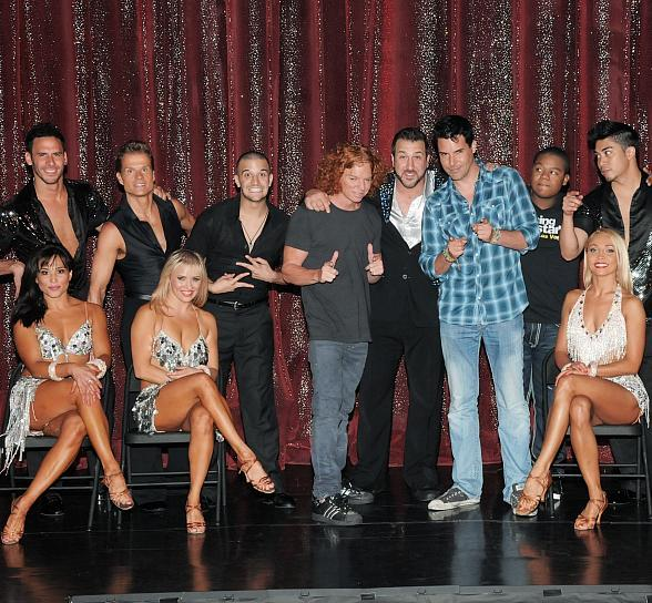 Carrot Top and Frankie Moreno at Dancing with the Stars Live in Las Vegas