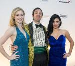 Cast members from ABSINTHE at 'One Night for ONE DROP'