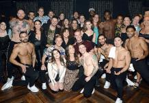 "Broadway Cast of ""Wicked"" Attends ""Magic Mike Live"" at Hard Rock Hotel & Casino"