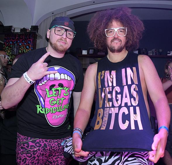 Redfoo and The Party Rock Crew Deliver Unforgettable Performance at Hyde Bellagio in Las Vegas