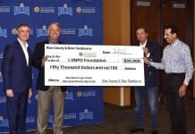 LVMPD Foundation Presents $60,000 Scholarship Fund to 12 Local College-Bound Students