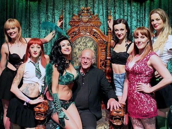 """""""Back to the Future"""" star Christopher Lloyd attends ABSINTHE at Caesars Palace"""