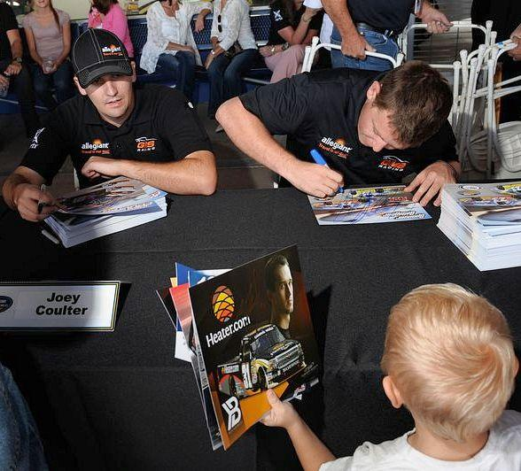 Rhino Linings 350 Drivers to Participate in Pre-Race Autograph Session Oct. 3