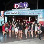 "DJ Pauly D's fans cheer for him at the ""Winter Wonderland EDM Pop Up Series"" at DLVEC"